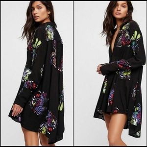 Free People Field Of Butterflies Tunic Dress